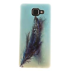 Voor Samsung Galaxy hoesje IMD / Patroon hoesje Achterkantje hoesje Veer Zacht TPU Samsung A7(2016) / A5(2016) / A3(2016) / A5 / A3
