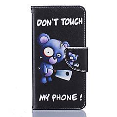 Mert LG tok Kártyatartó / Pénztárca / Állvánnyal / Flip / Minta Case Teljes védelem Case Szó / bölcselet Kemény Műbőr LGLG K10 / LG K8 /