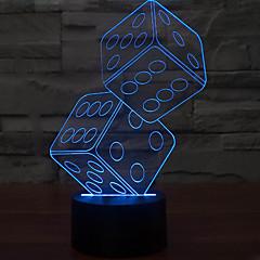 anteresting 3d illúzió háromdimenziós szitán éjszakai fény led asztali lámpa