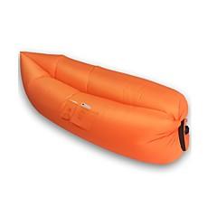 Inflatable Outdoor Air Sleep Sofa Couch Portable Furniture Sleeping Hangout Lounger External Internal PVC Camping Beach