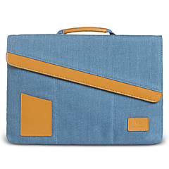 gearmax® de 15 pulgadas portátil bolsa / manga gris / azul / morado