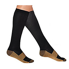 Running Compression Socks Unisex Sleeveless Compression Spandex / Nylon Fitness / Racing / Running Sports Wear Stretchy / High Elasticity
