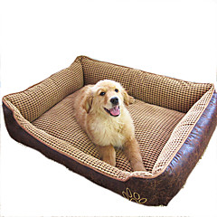 Yataklar Evcil Hayvanlar Battaniye Su Geçirmez Bej Kahve