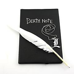 Jóias Inspirado por Death Note Fantasias Anime Acessórios de Cosplay Colares Preto Liga Masculino / Feminino