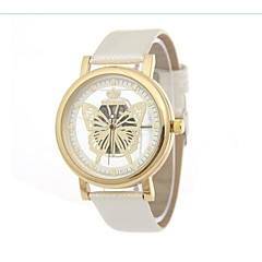 Women's Fashion Watch / Quartz Alloy Band Butterfly Cool Black White Blue Red Brown Purple Yellow Beige Navy Rose