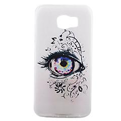 Mert Samsung Galaxy S7 Edge Átlátszó / Minta Case Hátlap Case Szexi lány Puha TPU Samsung S7 edge plus / S7 edge / S7 / S6 / S5 / S3