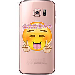バック 超薄型 / ビスク 漫画 TPU ソフト soft Ultra-thin Transparent ケースカバーについて Samsung Galaxy S7 edge / S7 / S6 edge plus / S6 edge / S6