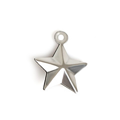 Amuletos Metal Star Shape Como en la foto 20Pcs