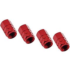 personalidade de alumínio pressão dos pneus tampa da válvula tampa do bocal de gás cap decorativo