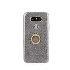For LG etui Ringholder Etui Bagcover Etui Glitterskin Hårdt TPU for LG LG G5 LG G4