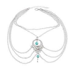 Brățară Gleznă/Brățări Others Design Unic Bohemia Stil La modă Aliaj Argint Femei Bijuterii 1 buc