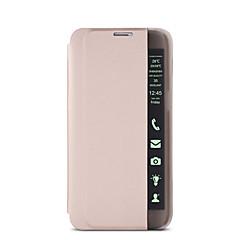 Varten Samsung Galaxy Note Pölynkestävä / Tuella / Ikkunalla / AutomAutomaattinen auki/kiinni / Flip / Ultraohut Etui Kokonaan peittävä