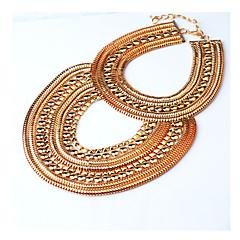 Women Alloy 70cm Silver/Golden Pendant Necklace