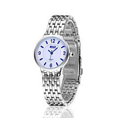 Ms. Couples ultrathin Hot Style Steel Strip Waterproof Business Gifts Leisure Quartz Watch
