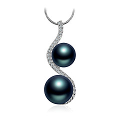 Necklace Pendant Necklaces / Pendants Jewelry Daily / Casual Fashionable Pearl White / Blue / Pink 1pc Gift