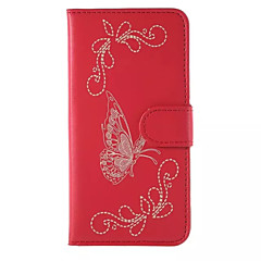 PU nahka lompakko flip kotelo Samsung Galaxy Note 3/4 huomautuksessa / note 5