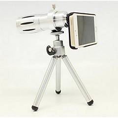 jablko 4 / 4s 5 / 5s 12 krát gm telezoom teleskop vnější fotografický přístroj len