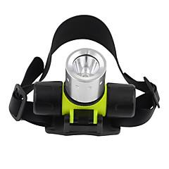 Luci Torce LED / Torce frontali / Torce da immersione LED 1200 Lumens 3 Modo Cree T6 18650 / AAA Impermeabili / Compatta / Ultraleggero