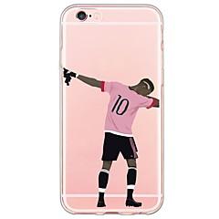 per il iphone 7 stelle dello sport del modello TPU ultra-sottile copertura posteriore morbida ranslucent per iPhone 6S 6 Plus SE 5s 5