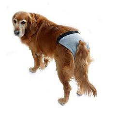 Perros Pantalones Ropa para Perro Verano Primavera/Otoño Un Color Casual/Diario Negro Gris Rosa