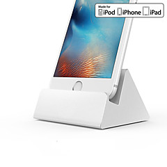 iQunix® MFI Certificated Hima Aluminum Alloy Dock Charging Station for iPhone 5,6/6s,6/6s Plus,iPad air/Pro