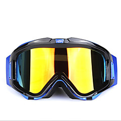 OBAOLAY Men and Women Double Anti-fog Ski Glasses Wind Mirror Motorcycle Mirror (H007)
