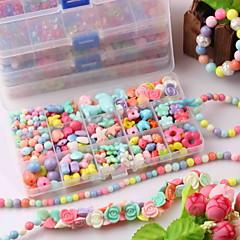 bricolaje encanto Acylic de la joyería para la pulsera niños