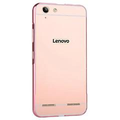 Voor Lenovo hoesje Beplating hoesje Achterkantje hoesje Effen kleur Hard Acryl Lenovo Lenovo Vibe K4 Note