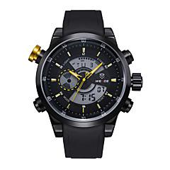 WEIDE® Men Fashion Analog Digital Sport Watch Rubber Strap Stopwatch/Alarm Backlight/Waterproof Wrist Watch Cool Watch Unique Watch