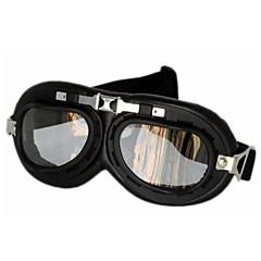 fashion zwarte motorfiets bril (gt002)