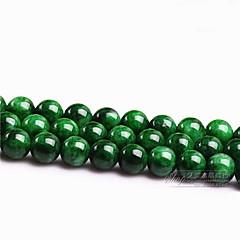 DIY κοσμήματα πράσινο γυαλί μπάλα γοητεία 4 χιλιοστά 98pcs για βραχιόλι