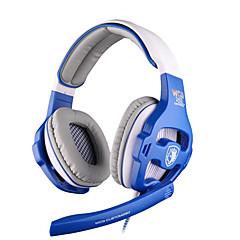 Sades WCG Høretelefoner (Pandebånd)ForMedie Player/Tablet / ComputerWithMed Mikrofon / DJ / Lydstyrke Kontrol / FM Radio / Gaming / Sport