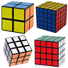 Leksaker Magiska kuber Rubik Cube Shengshou® 2*2*2 / 3*3*3 / 4*4*4 / 5*5*5 Hastighet magic Toy Slät Hastighet Cube Magic Cube pusselSvart
