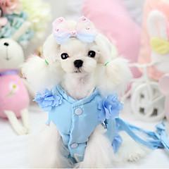 Σκυλιά Σαμαράκια Ρούχα για σκύλους Καθημερινά Μονόχρωμο Βυσσινί Κόκκινο Μπλε