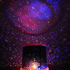 beauté étoile changeant de couleur ciel étoilé projecteur veilleuse