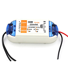 AC 90 ~ 240V 0.62a para dc 12v 2a 28w LED motorista de poder - laranja + branco