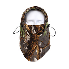 Ski Balaclava Hat Ski Balaclava Unisex Thermal / Warm / Windproof Snowboard Fleece Camouflage Cycling/Bike / Snowsports / Downhill Winter