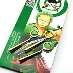 Κοσμήματα Εμπνευσμένη από One Piece Roronoa Zoro Anime Αξεσουάρ για Στολές Ηρώων Cercei Χρυσό ABS / Κράμα Ανδρικά / Γυναικεία