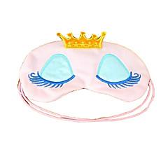 couronne cils dessins animés Eyeshade beauté du sommeil