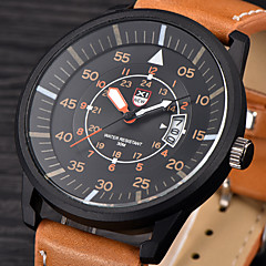 New Brand Men Watches  Leather Strap Charm Boy Quartz Analog Wristwatch Mens Classic Clock Relojes Sport Watches for Men