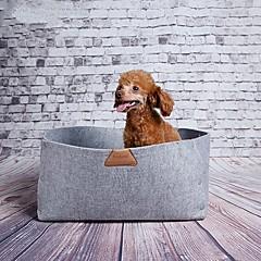 Gatto / Cane Letti Animali domestici Materassini & Lettini Portatile Verde / Grigio / Arancione Tessuto