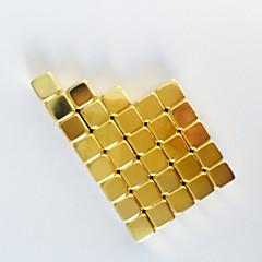 Jouets magic Toy 50pcs Miroir Jouets Executive Puzzle Cube DIY Balls Boules magnétiques Magnet Toys Doré Education Toys Pour cadeau