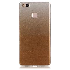 For Huawei etui P9 Lite P8 Lite IMD Etui Bagcover Etui Glitterskin Blødt TPU for HuaweiHuawei P9 Lite Huawei P8 Lite Huawei Y6 / Honor 4A