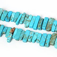 beadia természetes türkiz kő gyöngyök 10-30mm szabálytalan alakú kő távtartó gyöngyök 38cm / str (kb 50db)