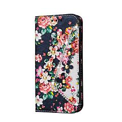 Για Samsung Galaxy Θήκη Θήκη καρτών / Νερού / Dirt / Shock Απόδειξη / Στρας tok Πλήρης κάλυψη tok Λουλούδι Σκληρή Συνθετικό δέρμα Samsung
