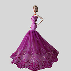 Party & Evening Dresses For Barbie Doll Fuschia Lace Dresses