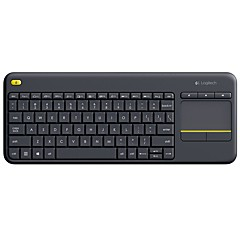 Logitech® K400 Plus Android Intelligent TV Wireless Keyboard Touch Panel,Touchpad Keyboard for Internet-Connected TVs