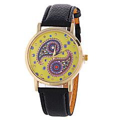 Women's Fashion Analog Charm Ladies' Christmas Display Strap Bohemia Quartz Wrist Watch