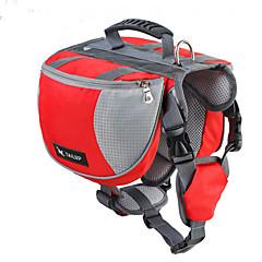 Perro Paquete de perro Mascotas Portadores Impermeable Rojo / Negro / Azul / Naranja Nylón