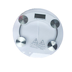 Toughened Glass Electronic Scales (Color White)